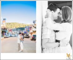 Downtown Park City Engagement Photography | Morgan Leigh Photography