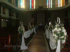 decoracion de iglesia para bodas