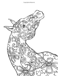 152 Best Horse mandala images | Horse coloring pages ...