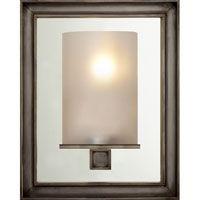 Visual Comfort CHD2053BZ-FG E.F. Chapman Lund 1 Light 6 inch Bronze Bath Wall Light in Frosted Glass