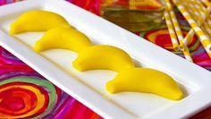Banana Cream Jelly Shots