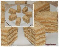 Egytojásos torta (karamellás sütemény) | Cukikonyha Krispie Treats, Rice Krispies, Food And Drink, Desserts, Caramel, Deserts, Dessert, Postres, Rice Krispie Treats