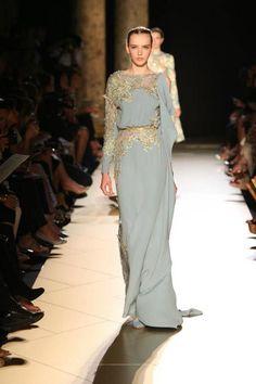 Elie Saab dresses couture autumn winter 2012 2013.