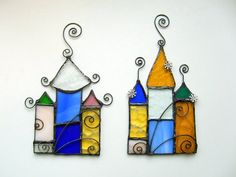 FREE SHIPPING EVERYWHERE  Stained glass suncatcher  by SaintGlass, $35.00