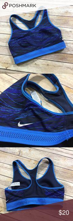 {Nike} Pro Fierce Accelerator Sports Bra Sz S NWOT