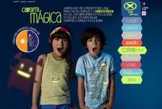 Site Hering Kids - Camisetas Mágicas