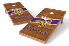 Minnesota Vikings Cornhole Board Set - Logo