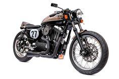 Cafe Racer Pasión — Harley Davidson Sportster 1200 Bobber by Deus Ex...