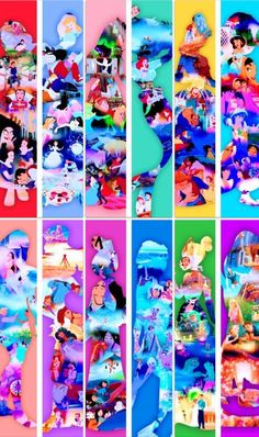 These would make great bookmarks for a princess party. Too bad my daughter is in college and the day of kid parties are over :( Disney Nerd, Disney Pins, Walt Disney, Disney Stuff, Disney Dream, Disney Love, Disney Magic, Disney Bookmarks, Disney Princesses And Princes