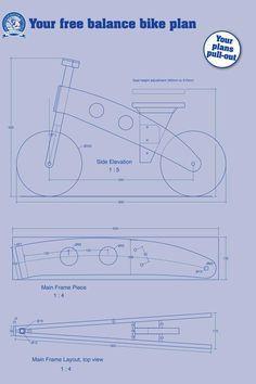 Equilibrio Bike - El Instituto de la Madera