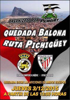 Real Balompédica Linense - Athletic de Bilbao el jueves 3 de diciembre de 2015. #BodegonAntonito #lalinea #futbol #CopaDelRey #peñapichigüey #Balona #tapas #gastronomia