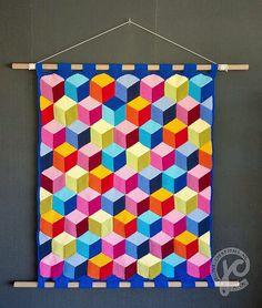 Ravelry: brain teaser blanket pattern by Jellina Verhoeff