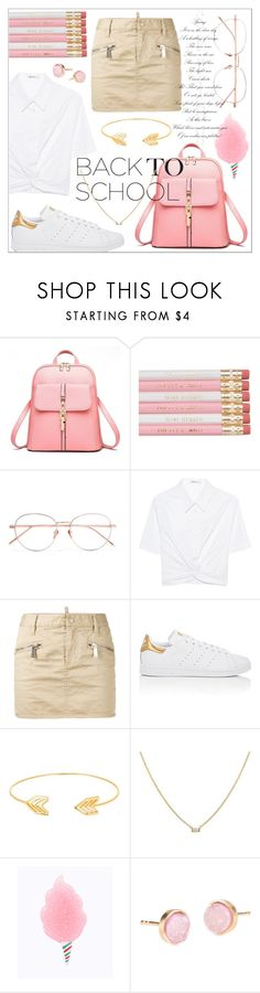 """""""837"""" by robertaelisa ❤ liked on Polyvore featuring Linda Farrow, T By Alexander Wang, Dsquared2, adidas, Lord & Taylor and Pernille Corydon"""