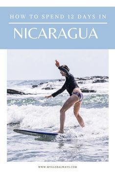 Nicaragua is the perfect destination for a short trip and here is a sample itinerary for how to spend 12 days there. Top Travel Destinations, Travel Themes, Places To Travel, Worldwide Travel, Travel Guides, Travel Tips, South America Travel, Short Trip, Panama City Panama