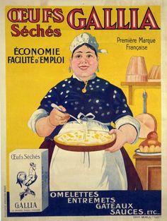 Vintage poster - eggs