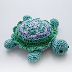 Tina the Turtle - Free Amigurumi Crochet Pattern -  Step by Step  here: http://www.inart.no/turtle-pattern/