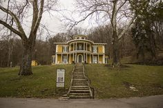 Do you like haunted history? Hillforest Mansion in Aurora was the home of industrialist and financier Thomas Gaff and his family between 1855 and 1891. Some tour guides claim the spirits of these 19th century occupants still reside in the house. Do you know of any other places in southern Indiana that are said to be haunted?