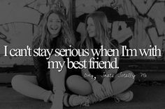 Too true! It's not even funny how true it is! Ok it's always funny cause it has something to do with my BFF! Quotes Mind, Bff Quotes, Best Friend Quotes, Best Friend Goals, Friendship Quotes, Funny Quotes, Wierd Quotes, Sister Quotes, Qoutes