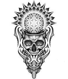 To understand culture is to understand the selfTo understand the self is to transcend culture Geometric Mandala Tattoo, Sacred Geometry Tattoo, Geometric Tattoo Design, Mandala Tattoo Design, Skull Tattoo Design, Tattoo Sleeve Designs, Skull Tattoos, Leg Tattoos, Black Tattoos