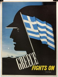 E. McKnight Kauffer - Greece Fights On, 1942