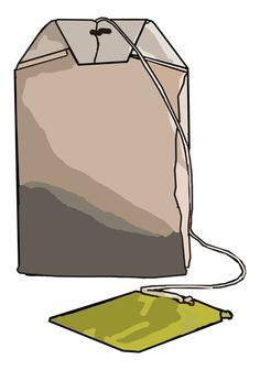 Tea bag shape