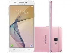 """Smartphone Samsung Galaxy J5 Prime 32GB Rosa - Dual Chip 4G Câm. 13MP + Selfie 5MP Tela 5"""" HD - com as melhores condições você encontra no Magazine Shopspremium. Confira!"""