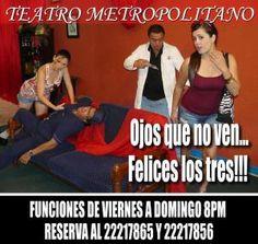 OJOS QUE NO VEN... FELICES LOS TRES ESTRENO 2014 http://www.desktopcostarica.com/eventos/2014/ojos-que-no-ven-felices-los-tres-estreno-2014 #CostaRica