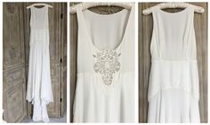 Anna Kara 'Esther' £1495 #annakara #esther #designerweddingdressagency #bridetobe #weddingideas #silkweddingdress