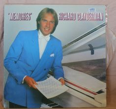 Richard Clayderman Memories Vinyl LP