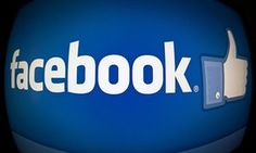 facebook logo and like button