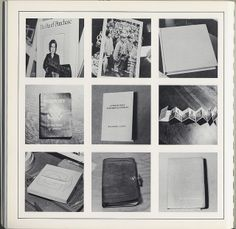 "Sol Lewitt, ""Autobiography"", 1980 | Flickr: partage de photos!"