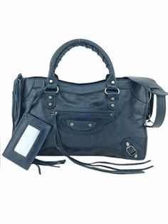 Balenciaga Lambskin Leather Classic City Saphire Blue Tote Bag. Get one of the hottest styles of the season! The Balenciaga Lambskin Leather Classic City Saphire Blue Tote Bag is a top 10 member favorite on Tradesy. Save on yours before they're sold out!
