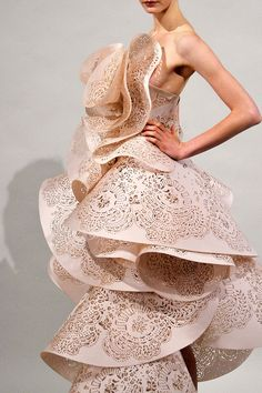 marchesa j tried this on in liverpool or something similar reminds me of origami