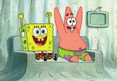 SpongeBob and Patrick | It's National Best Friends Day!