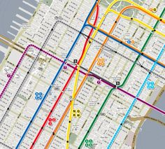 Mapping the Almost-Real City - Arts & Lifestyle - The Atlantic Cities - NYC