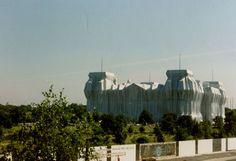 Berlin. Reichstag. Christo.