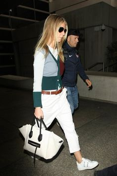 Gwyneth Paltrow Photos Photos - Gwyneth Paltrow is seen at LAX. - Gwyneth Paltrow at LAX