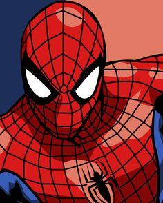 Spider-man Pop Art by iamherecozidraw