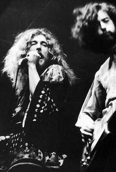Robert Plant & Jimmy Page of Led Zeppelin