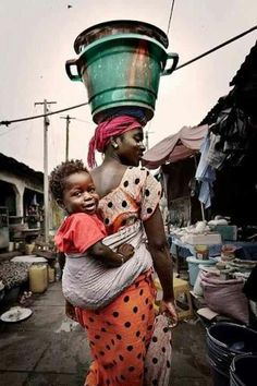Mother and child, Afrika Africa We Are The World, People Around The World, Wonders Of The World, Black Is Beautiful, Beautiful World, Beautiful People, Beautiful Mind, African Culture, African Art