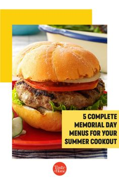Take the stress out of Memorial Day menu planning—we've done it for you! Check out five complete menus that include Memorial Day appetizers, salads, sides, entrees, drinks and desserts. Dessert Dishes, Desserts, Strawberry Pretzel Salad, Spiral Pasta, Three Bean Salad, Pork Tacos, Watermelon Salad, Colorful Fruit, Family Picnic