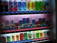 Hot and cold beverage vending machines!