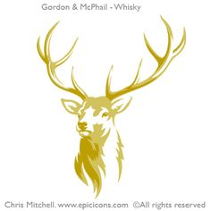 Brand illustrator Chris Mitchell of Epic Icons is recognised internationally for his craft skills in the creation of major illustrative brand and… Stag Tattoo, Raven Tattoo, Tattoo Ink, Arm Tattoo, Hirsch Illustration, Stag Design, Leather Tooling Patterns, Wine Logo, Stag Head