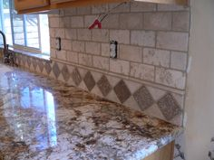 round tile backsplash | Kitchen Backsplash Make-over… | everythingtile