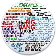 Big Bang Theory Pin