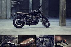 Triumph Bonneville T100 Custom by Bunker Custom Cycles 5
