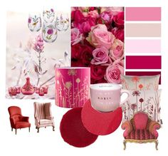 """Pinks"" by chauert ❤ liked on Polyvore featuring art"
