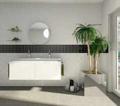 Badezimmereinrichtung Modern