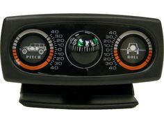 Rampage Products Inclinometer with JK Graphics & Compass | Jeep Parts and Accessories | Quadratec