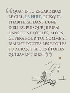 • • Citation • • De : Antoine de Saint-Exupéry ~ Du : Le Petit Prince ~ #Histoire #Conte #Animé